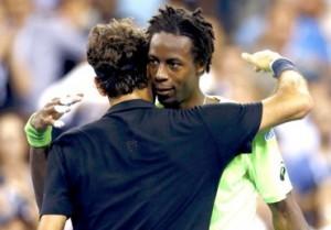 Kalahkan Gael Monfils Dengan Susah Payah, Federer Lolos Semifinal AS Terbuka