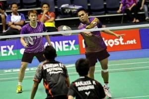 Markis Kido Dan Marcus Fernaldi Kalah,  Wakil Indonesia Di Ganda Putra Habis