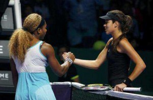 Serena Williams Kalah Telak Dari Simona Halep Dalam Laga Grup Merah