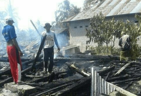 Rumah Warga Terbakar di Lutra, 1 Orang Tewas Terpanggang